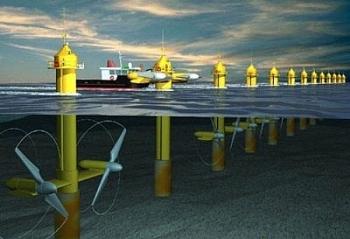 Phát điện bằng công nghệ phạm vi thủy triều