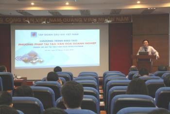 """PVN tổ chức khóa đào tạo """"Phương pháp tái tạo văn hóa doanh nghiệp"""""""