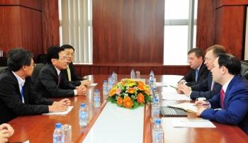 Tổng giám đốc Petrovietnam tiếp Tổng giám đốc Công ty dầu khí Zarubezhneft