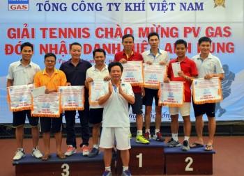 Giải tennis chào mừng PV GAS đón nhận Danh hiệu Anh hùng Lao động