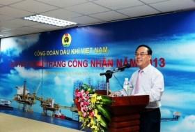 cong doan dau khi viet nam phat dong thang cong nhan nam 2013