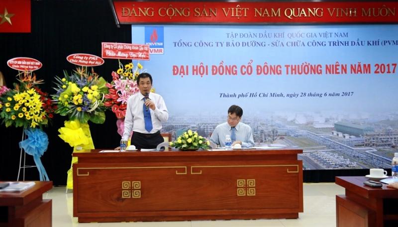 pvmr to chuc thanh cong dai hoi co dong 2017