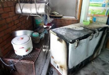 Hỏa hoạn do rò rỉ khí gas, hai người bỏng nặng