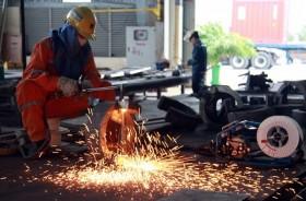 [PHOTO] Trên công trường chế tạo giàn khoan Tam Đảo 05