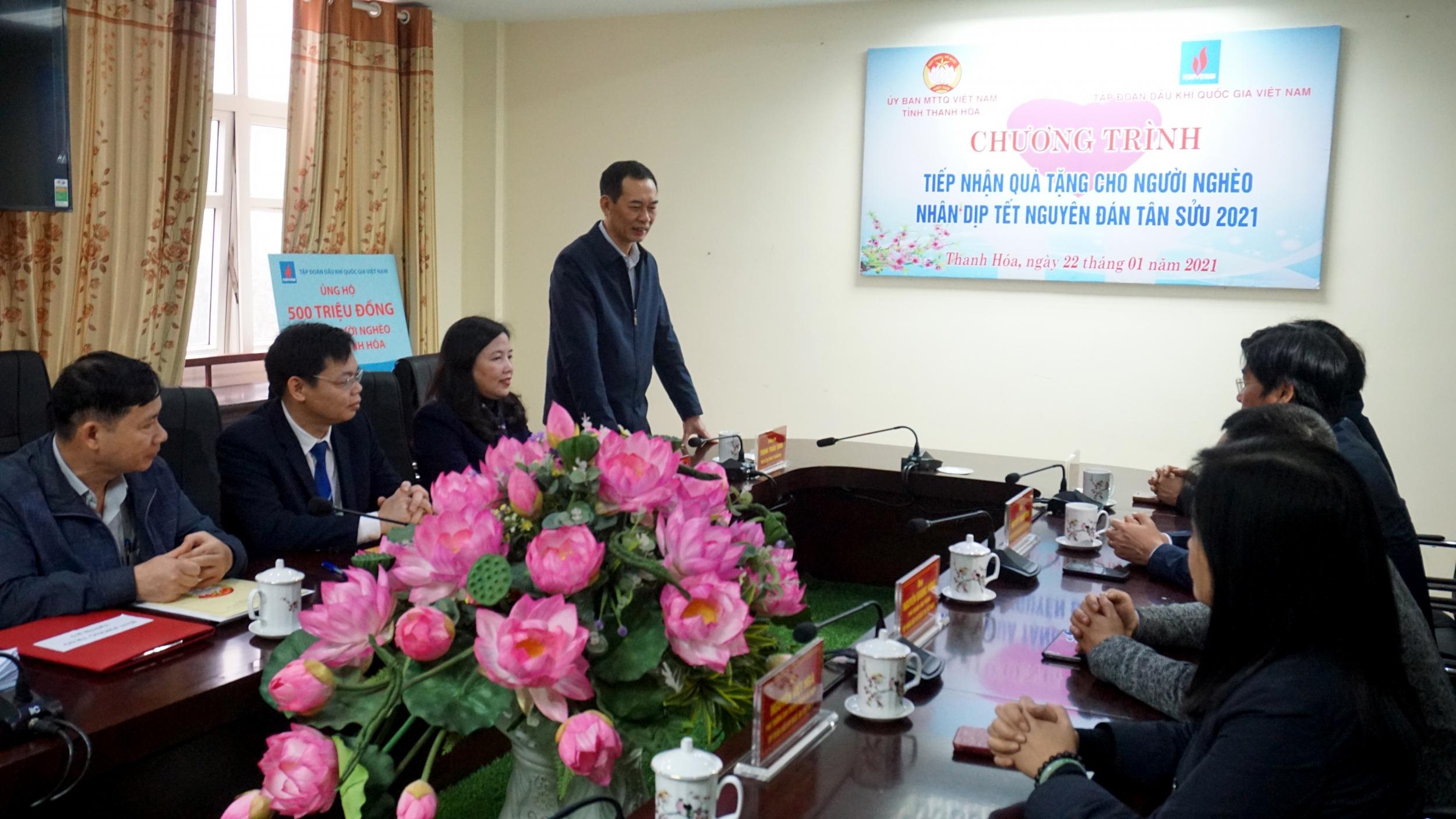 Petrovietnam chung tay chăm lo Tết vì người nghèo tại Thanh Hóa