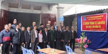 Trao nhà 'Nghĩa tình đồng đội' tại Phú Thọ