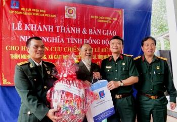 """Trao nhà """"Nghĩa tình đồng đội"""" tại Quảng Trị"""