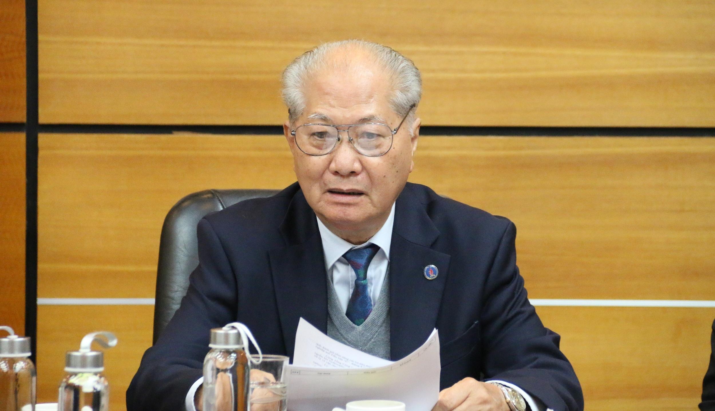 Hội nghị Ban Thường trực Hội Dầu khí Việt Nam năm 2021