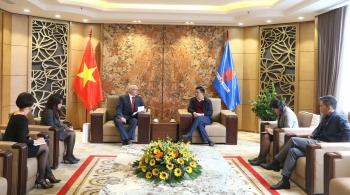 Tổng Giám đốc Petrovietnam Lê Mạnh Hùng tiếp lãnh đạo Perenco Việt Nam, lãnh đạo Rosneft tại Việt Nam