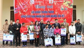 Hội CCB Tập đoàn thăm hỏi, tặng quà CCB, các gia đình nạn nhân chất độc da cam