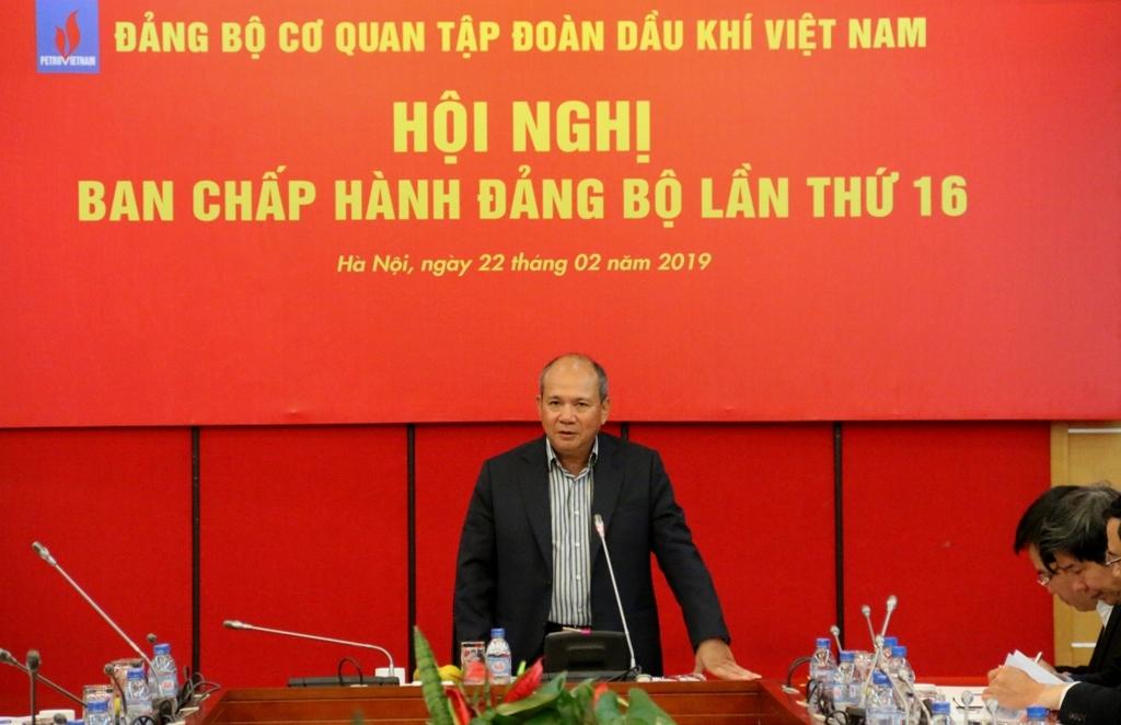 hoi nghi ban chap hanh mo rong dang bo co quan tap doan lan thu 16