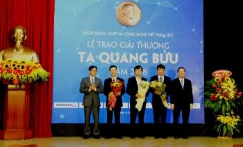 8 nhà khoa học được đề cử Giải thưởng Tạ Quang Bửu năm 2019