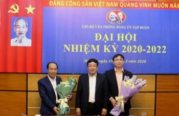 Đại hội Chi bộ Văn phòng Đảng ủy Tập đoàn nhiệm kỳ 2020 - 2022