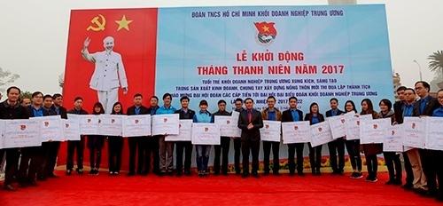 tuoi tre khoi doanh nghiep trung uong khoi dong thang thanh nien nam 2017