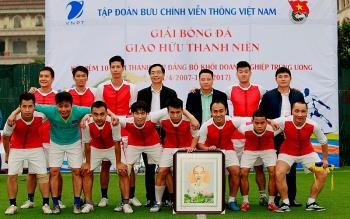 Khai mạc Giải bóng đá kỷ niệm Ngày thành lập Đảng bộ Khối DNTW