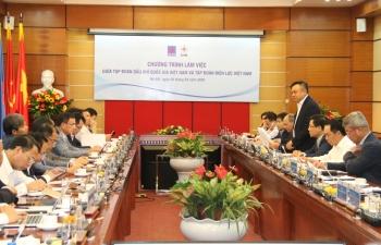 PVN và EVN tăng cường hợp tác để góp phần đảm bảo an ninh năng lượng quốc gia