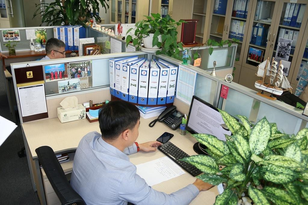 Diện mạo mới với 5S tại Cơ quan Tập đoàn
