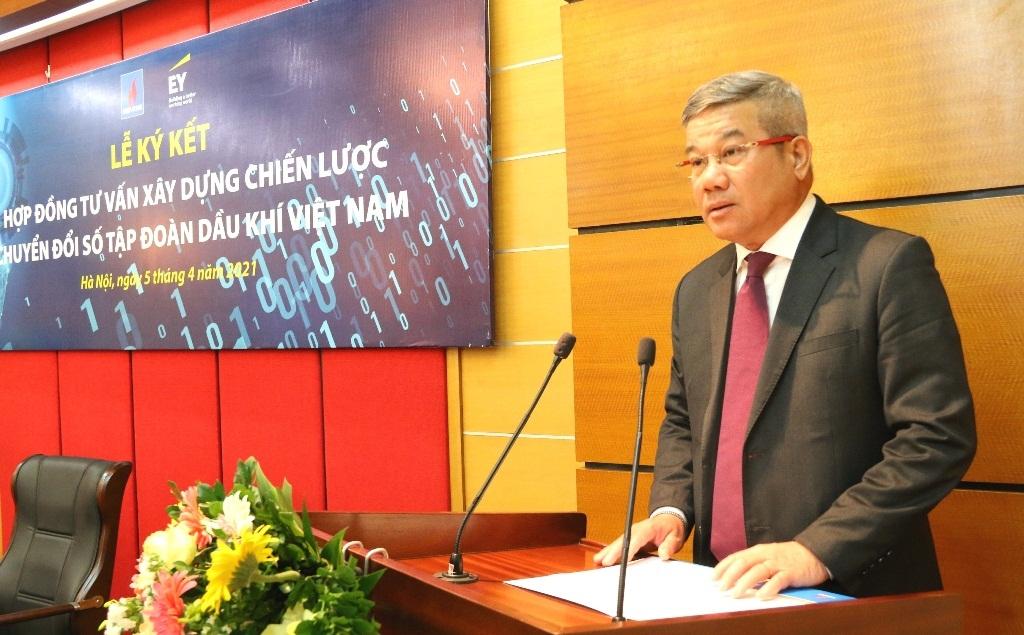 Petrovietnam và EY Việt Nam ký kết hợp đồng tư vấn xây dựng chiến lược chuyển đổi số