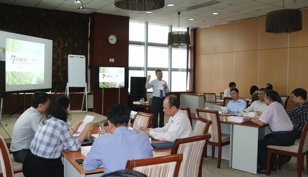 """Petrovietnam khai giảng khóa đào tạo """"7 thói quen hiệu quả"""" lớp thứ 4"""