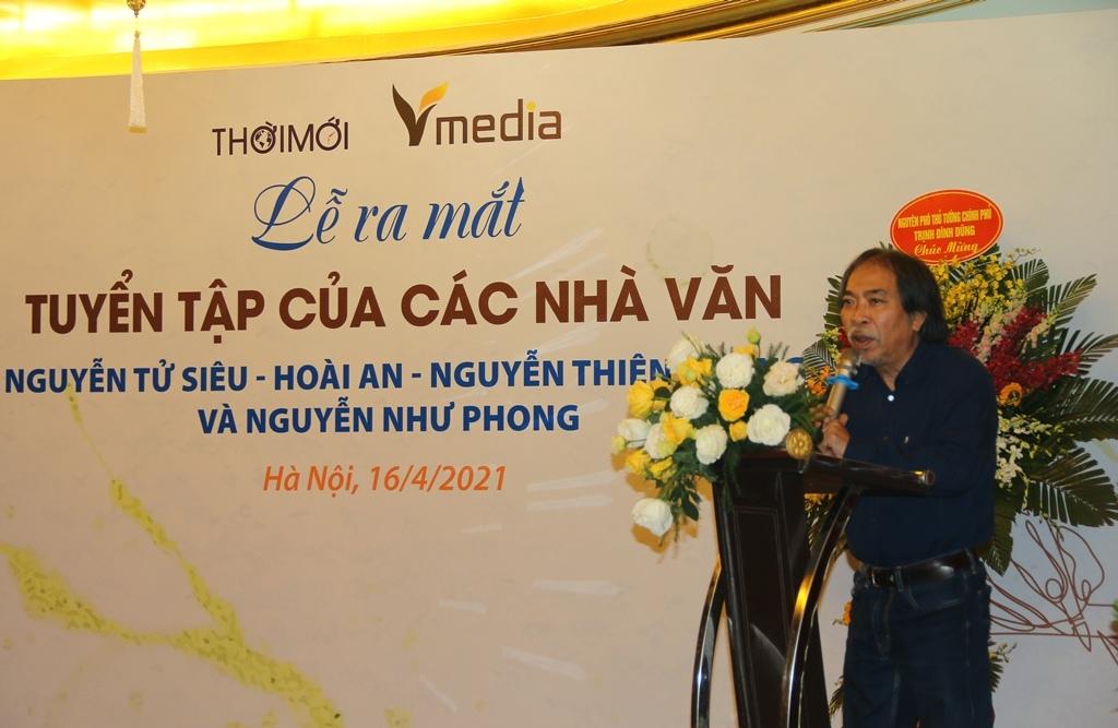 Ra mắt tuyển tập của gia đình nhà văn Nguyễn Như Phong
