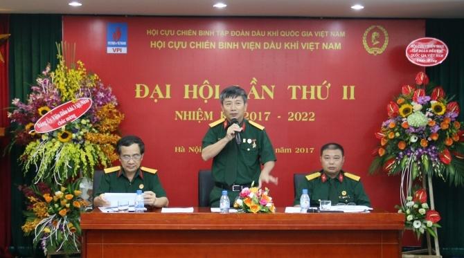 hoi ccb vpi to chuc dai hoi lan thu ii nhiem ky 2017 2022