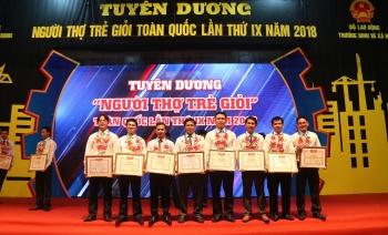 """8 gương mặt Dầu khí được tuyên dương """"Người thợ trẻ giỏi"""" toàn quốc lần IX"""