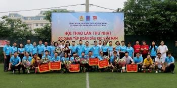 Khai mạc Hội thao Cơ quan Tập đoàn Dầu khí Việt Nam lần thứ I năm 2019