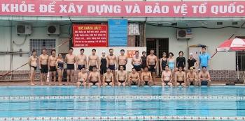 Kết quả Hội thao Cơ quan Tập đoàn lần thứ I: Môn thi bơi