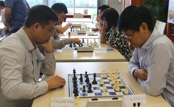 Hội thao Cơ quan Tập đoàn lần thứ I: Kết quả môn cờ vua và cờ tướng