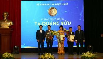 Vinh danh nhà khoa học đạt Giải thưởng Tạ Quang Bửu 2019