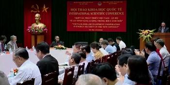 Đẩy mạnh hợp tác về an ninh năng lượng Việt Nam - Ấn Độ