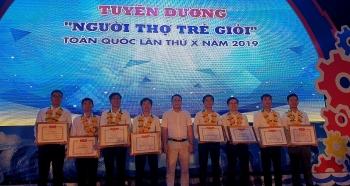 """Giải thưởng """"Người thợ trẻ giỏi"""" toàn quốc vinh danh 8 đại diện tuổi trẻ Dầu khí"""