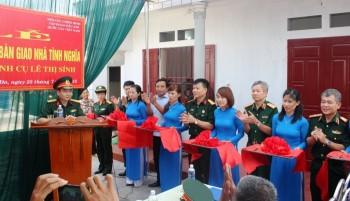"""Trao nhà """"Nghĩa tình đồng đội"""" tại Thái Bình"""