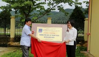 PV Power khánh thành và bàn giao công trình trường học tại Điện Biên