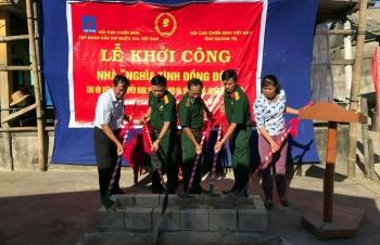 Hội CCB Tập đoàn khởi công xây dựng nhà tình nghĩa tại Quảng Trị