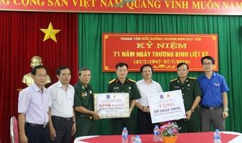 Tri ân các thương bệnh binh, người có công với cách mạng tỉnh Hà Nam