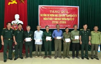 Tri ân các thương bệnh binh, người có công với cách mạng tỉnh Nghệ An