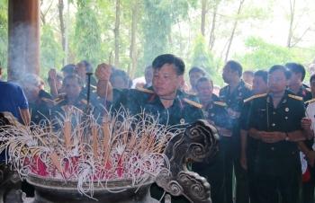 Hội CCB Tập đoàn về thăm di tích Ngã ba Đồng Lộc