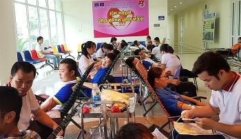 Tuổi trẻ PVMTC và PVU hiến máu vì cộng đồng