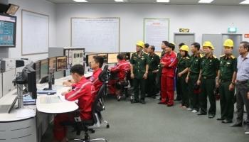 Hội CCB Tập đoàn thăm và làm việc tại Nhà máy Nhiệt điện Vũng Áng 1