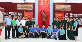 Hội CCB PVFCCo sơ kết hoạt động 6 tháng đầu năm và thực hiện an sinh xã hội tại Hậu Giang