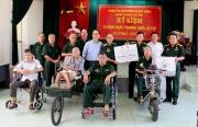 Hội CCB Tập đoàn tri ân người có công tỉnh Thái Bình và Bắc Ninh
