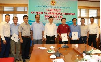 Hội CCB Tập đoàn tri ân các thương binh, gia đình liệt sĩ Cơ quan Trung ương Hội CCB Việt Nam