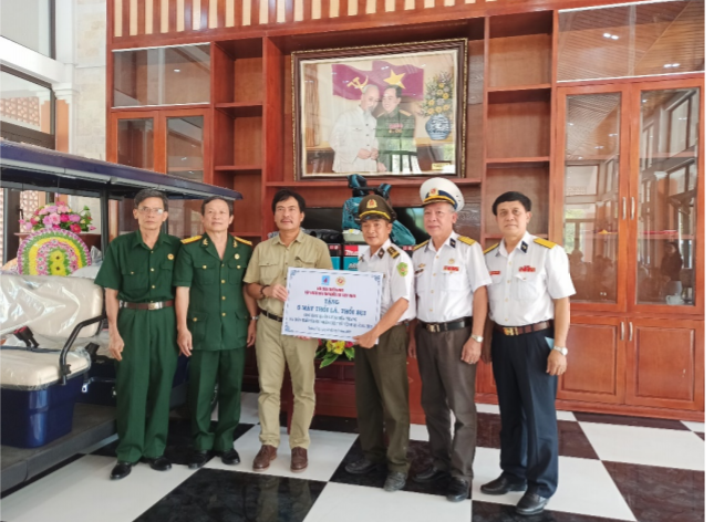 Hội CCB PTSC tổ chức hành trình về nguồn tại Quảng Trị và tri ân nhân Ngày Thương binh Liệt sĩ