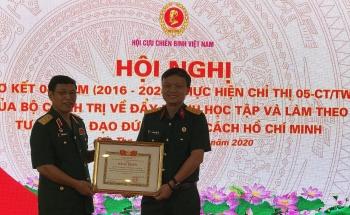 """Hội CCB Việt Nam """"Đẩy mạnh học tập và làm theo tư tưởng, đạo đức, phong cách Hồ Chí Minh"""""""