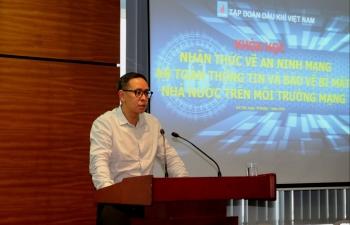 """PVN tổ chức khóa tập huấn """"Nhận thức về an ninh mạng, an toàn thông tin và bảo vệ bí mật nhà nước trên môi trường mạng"""""""
