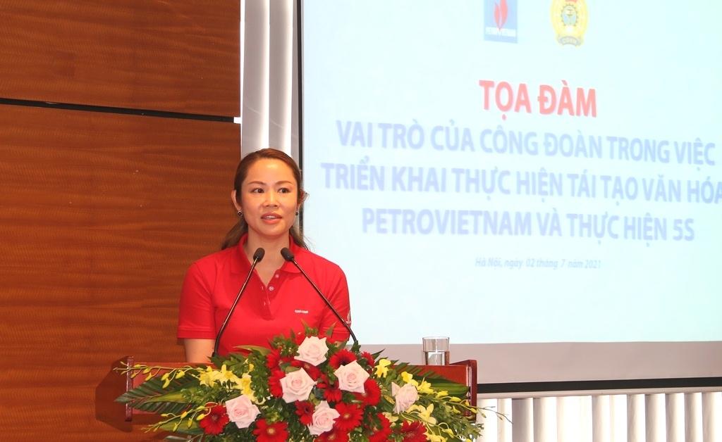 Vai trò của Công đoàn trong việc triển khai thực hiện tái tạo văn hóa Petrovietnam và thực hiện 5S