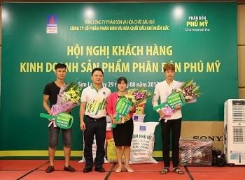 phan bon phu my dong hanh cung cay ngo son la