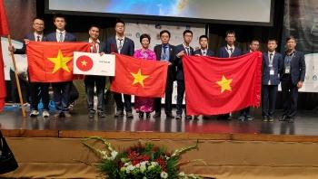 Việt Nam đứng thứ Nhất cuộc thi Olympic Thiên văn và Vật lí thiên văn quốc tế 2019