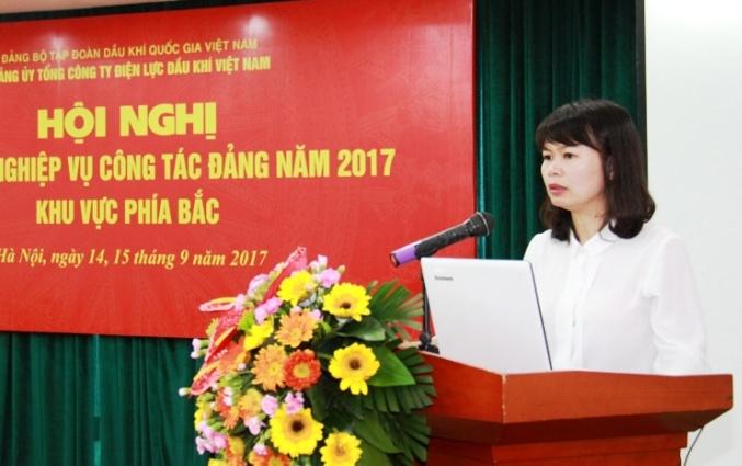 pv power to chuc hoi nghi tap huan nghiep vu cong tac dang